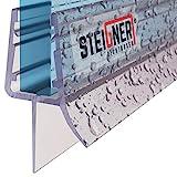 STEIGNER Duschdichtung, 70cm, Glasstärke 6/ 7/ 8 mm, Gerade PVC Ersatzdichtung für Dusche, UK03