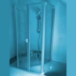 Duschkabine für Badewanne
