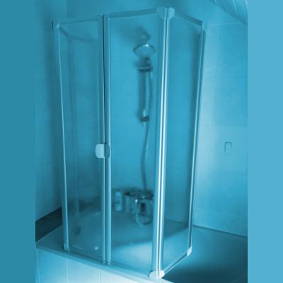 badewannenfaltwand mit dem komfort einer duschkabine. Black Bedroom Furniture Sets. Home Design Ideas
