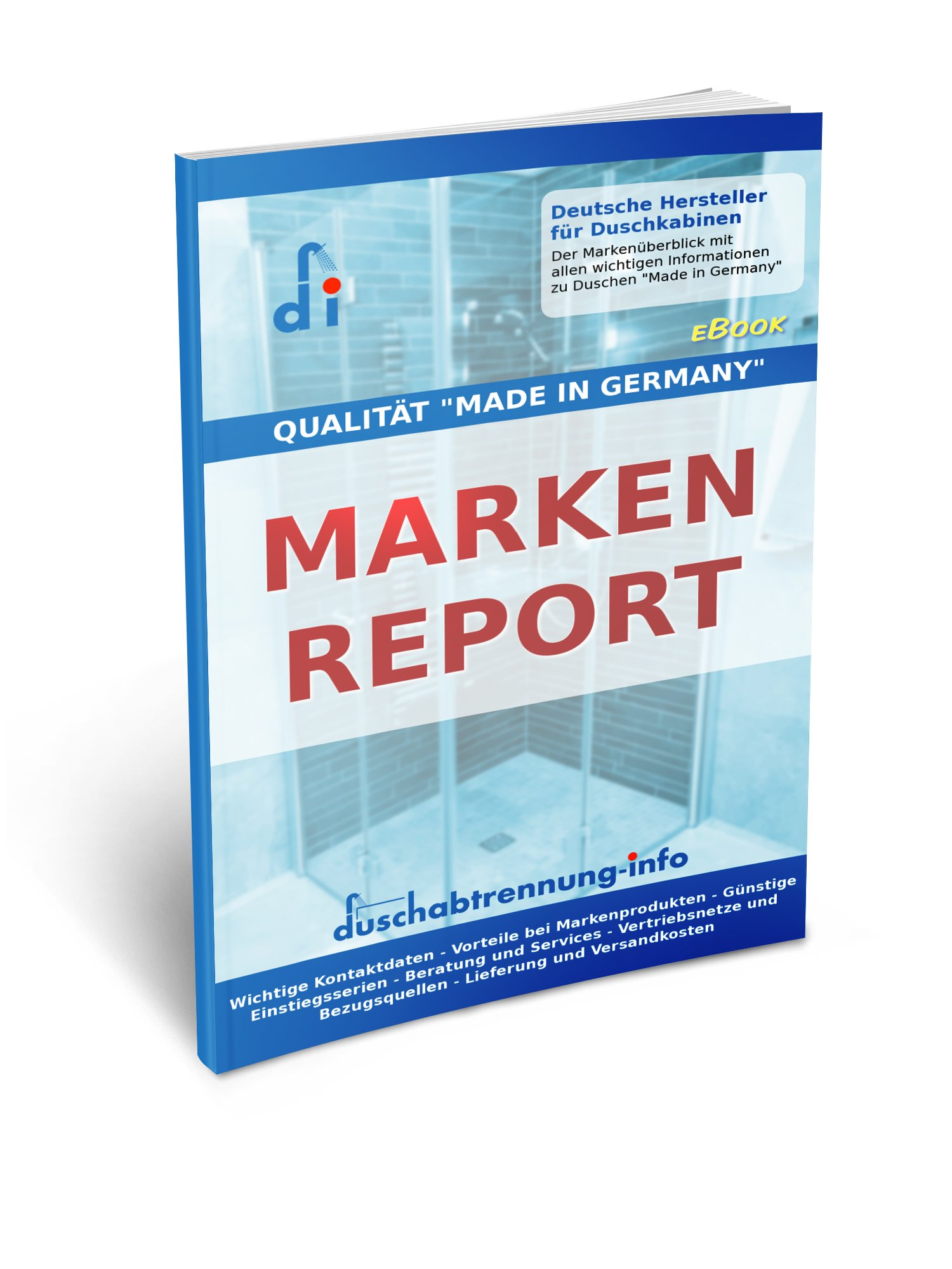 eBook Markenreport Duschenhersteller