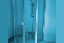 Duschkabine Badewanne vorgestellt